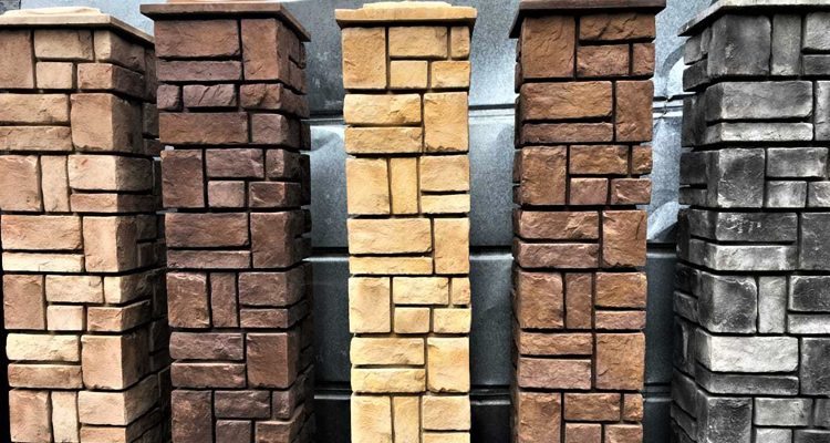 Изготовление декоративных заборных блоков в Каспийске